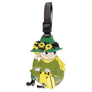 Silicone luggage tag with Snufkin