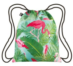 Backpack from LOQI - Wild Flamingos