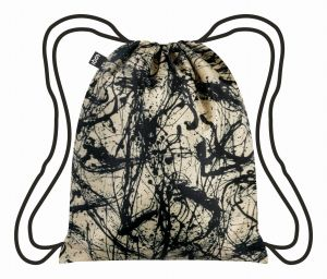 Backpack from LOQI - Jackson Pollock Number 32