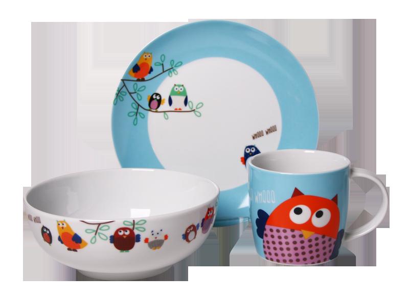 Zestaw śniadaniowy Dla Dzieci Silly Design