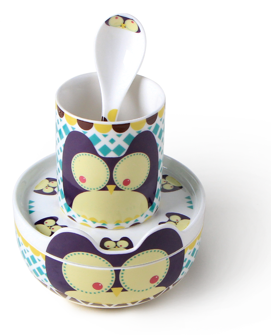 Zestaw Porcelanowy Dla Dzieci Silly Design